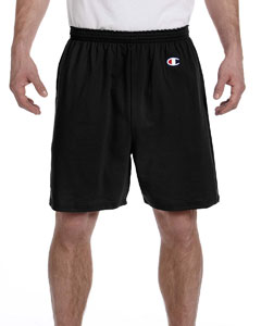 Black 6.1 oz. Cotton Jersey Shorts