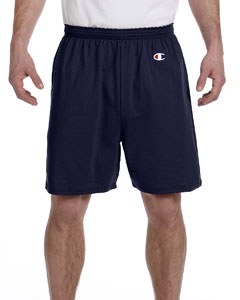 Navy 6.1 oz. Cotton Jersey Shorts
