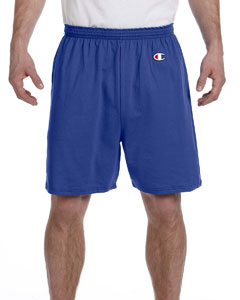 Royal Blue 6.1 oz. Cotton Jersey Shorts