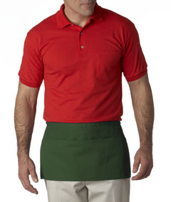 Forest 3-Pocket Waist Apron