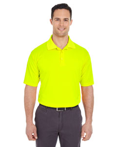 Bright Yellow Men's Cool & Dry Mesh Pique Polo