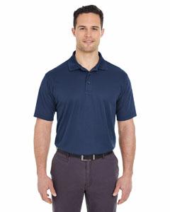 Navy Men's Cool & Dry Mesh Pique Polo