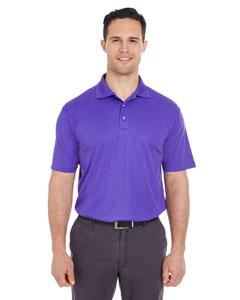 Purple Men's Cool & Dry Mesh Pique Polo