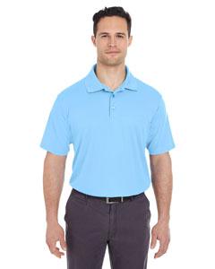 Columbia Blue Men's Cool & Dry Mesh Pique Polo