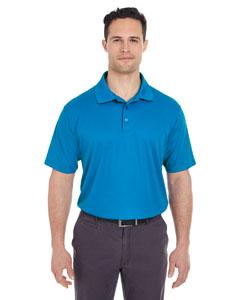 Pacific Blue Men's Cool & Dry Mesh Pique Polo