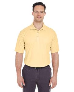 Yellow Haze Men's Cool & Dry Mesh Pique Polo