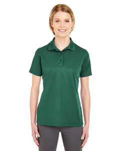 Forest Green Ladies' Cool & Dry Mesh Pique Polo