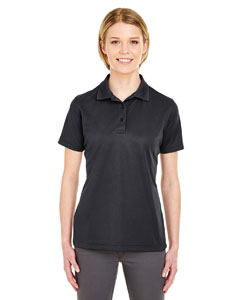 Black Ladies' Cool & Dry Mesh Pique Polo