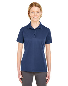 Navy Ladies' Cool & Dry Mesh Pique Polo