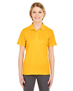 Gold Ladies' Cool & Dry Mesh Pique Polo