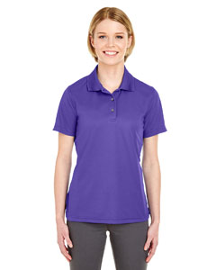 Purple Ladies' Cool & Dry Mesh Pique Polo