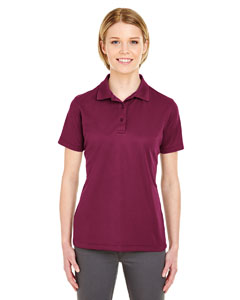Maroon Ladies' Cool & Dry Mesh Pique Polo