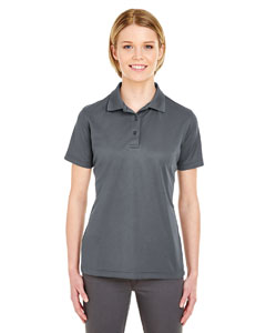 Charcoal Ladies' Cool & Dry Mesh Pique Polo
