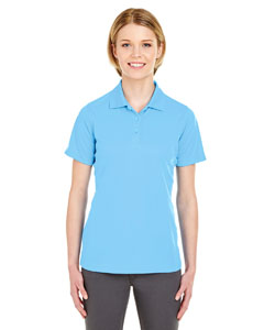 Columbia Blue Ladies' Cool & Dry Mesh Pique Polo