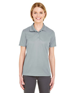 Silver Ladies' Cool & Dry Mesh Pique Polo