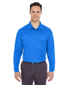 Royal Adult Cool & Dry Long-Sleeve Mesh Piqué Polo