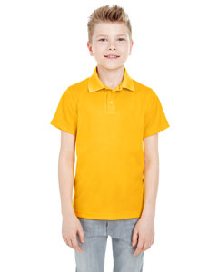 Gold Youth Cool & Dry Mesh Piqué Polo