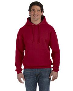 Maroon 12 oz. Supercotton™ 70/30 Pullover Hood