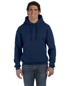 J Navy 12 oz. Supercotton™ 70/30 Pullover Hood
