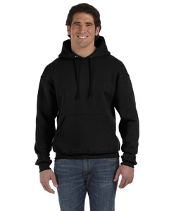 Black 12 oz. Supercotton™ 70/30 Pullover Hood