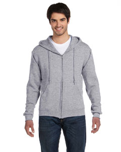 Athletic Heather 12 oz. Supercotton™ 70/30 Full-Zip Hood