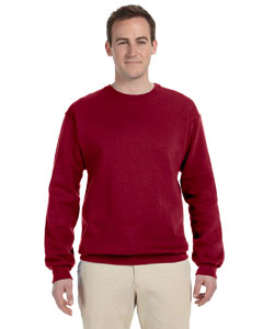 Maroon 12 oz. Supercotton™ 70/30 Fleece Crew