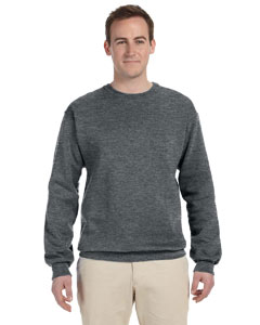 Athletic Heather 12 oz. Supercotton™ 70/30 Fleece Crew