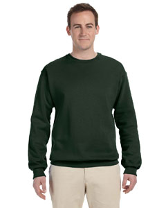 Forest Green 12 oz. Supercotton™ 70/30 Fleece Crew
