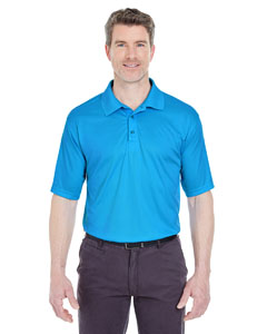 Sapphire Men's Cool & Dry Sport Performance Interlock Polo