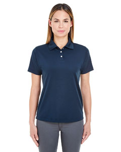 Navy Ladies' Cool & Dry Stain-Release Performance Polo
