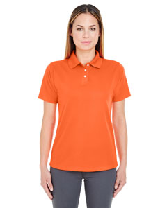 Orange Ladies' Cool & Dry Stain-Release Performance Polo