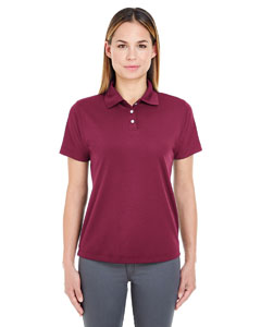 Maroon Ladies' Cool & Dry Stain-Release Performance Polo