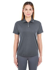 Charcoal Ladies' Cool & Dry Stain-Release Performance Polo