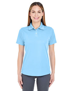 Columbia Blue Ladies' Cool & Dry Stain-Release Performance Polo