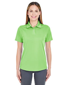 Light Green Ladies' Cool & Dry Stain-Release Performance Polo