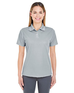 Silver Ladies' Cool & Dry Stain-Release Performance Polo