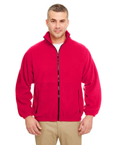 Red Iceberg Fleece Full-Zip Jacket