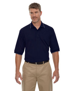 Navy 007 Men's Cotton Jersey Polo