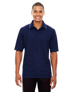 Classic Navy 849 Edry® Men's Needle-Out Interlock Polo