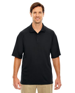 Black 703 Eperformance™ Men's Piqué Polo