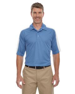 Lake Blue 800 Eperformance™ Men's Piqué Colorblock Polo