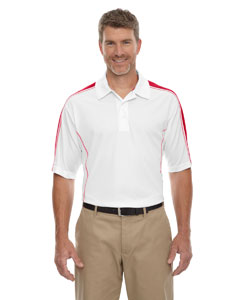 White/cl Red 850 Eperformance™ Men's Piqué Colorblock Polo
