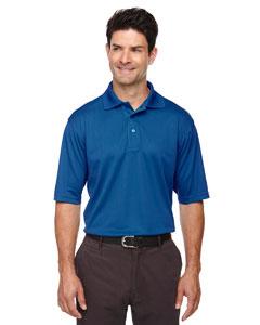 Monarch Blue 609 Eperformance™ Men's Jacquard Piqué Polo