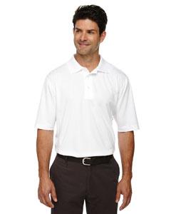 White 701 Eperformance™ Men's Jacquard Piqué Polo