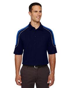 Classic Navy 849 Edry® Men's Colorblock Polo