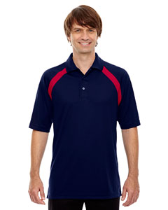 Cl Nvy/cl Rd 437 Eperformance™ Men's Colorblock Piqu  Polo