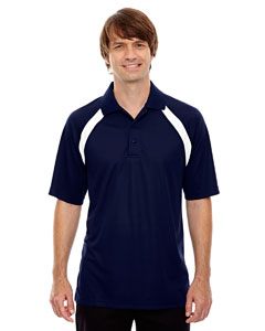 Classic Navy 849 Eperformance™ Men's Colorblock Piqu  Polo