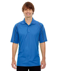 Lt Naut Blu 417 Eperformance™ Men's Velocity Snag Protection Colorblock Polo with Piping