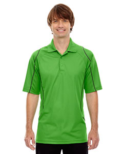 Valley Green 448 Eperformance™ Men's Velocity Snag Protection Colorblock Polo with Piping