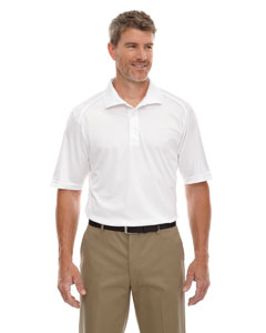 White 701 Eperformance™ Men's Shield Snag Protection Short-Sleeve Polo